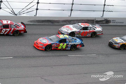 Jeff Gordon and Sterling Marlin