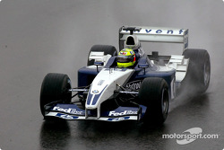 Ralf Schumacher goes to the starting grid