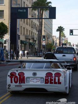 Trans-Am cars parade in Long Beach