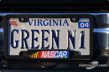 Virginia license plate