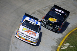 Kevin Harvick and Ken Schrader