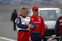 Kenny Brack and Felipe Giaffone