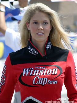A lovely Winston Cup Series girl