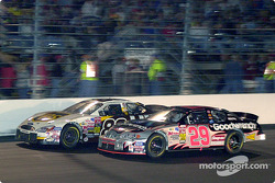 Dale Jarrett and Kevin Harvick