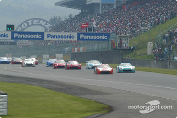 GT500 start