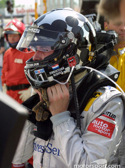 Race winner Christijan Albers