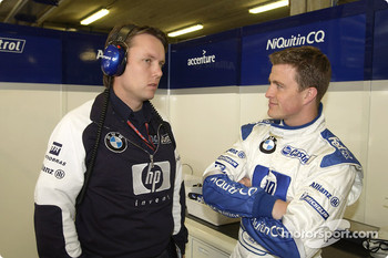 Sam Michael and Ralf Schumacher in 2003