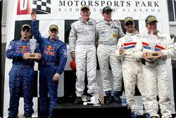 The Daytona Prototype podium finishes at the Barber 250 at The Park
