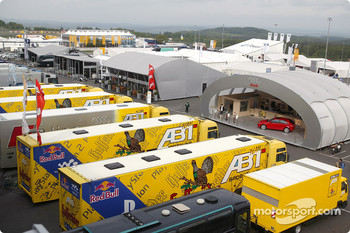 Nurburgring paddock area