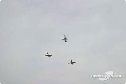 Lear flyover