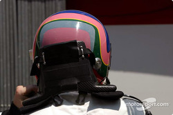 Jacques Villeneuve gets ready