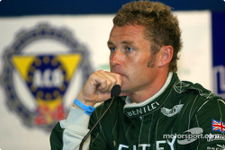 Press conference: pole winner Tom Kristensen