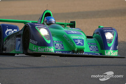 #17 Pescarolo Sport Courage C60-Peugeot: Jean-Christophe Boullion, Franck Lagorce, Stephane Sarrazin back on the track
