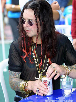 Ozzie Osbourne gets a break from his family