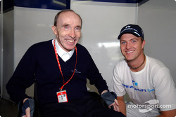 Frank Williams and Ralf Schumacher
