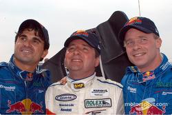 Mike Borkowski Scott Goodyear and David Donohue