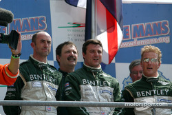 Podium: David Brabham, Mark Blundell, Johnny Herbert