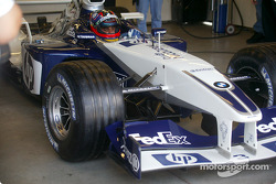 Juan Pablo Montoya ready for action