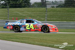 Juan Pablo Montoya in the DuPont Chevrolet