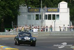 #17 Jaguar Lightweight E Type: Jo Bamford, Frank Sytner