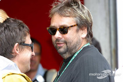 Ferrari guest: movie director Luc Besson
