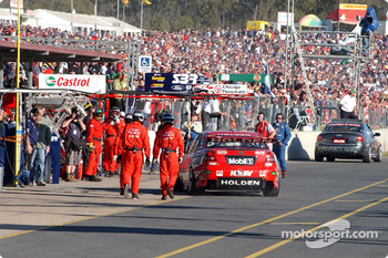 Not the ending Skaife or HRT were looking for as Skaife heads to the garage