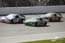 Johnny Benson, Bobby Labonte and Ward Burton