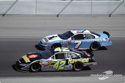 Jimmy Spencer and Jamie McMurray