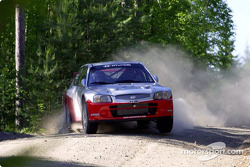 Jussi Valimaki tests the Hyundai