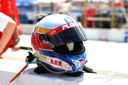 Ron Fellows' helmet