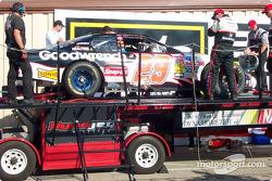 Post-race dyno check for Kevin Harvick's car