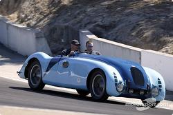 Bugatti on a parade lap