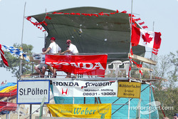 Honda and Canadian GP supporters