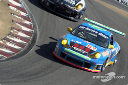 #67 The Racer's Group Porsche 911 GT3RS: Michael Schrom, Pierre Ehret