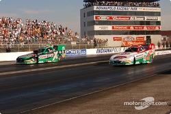 Budweiser Shootout Final: Tony Pedregon and John Force