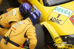 Pitstop practice for Laurent Aiello