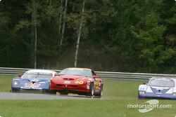 #58 Brumos Racing Porsche Fabcar: David Donohue, Mike Borkowski, Sascha Maassen, and #50 Michael Baughman Racing Firebird: Rick Ellinger, Michael Baughman