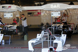 BAR garage area
