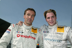 The two contenders for the 2003 championship: Bernd Schneider and Christijan Albers