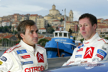Carlos Sainz and Colin McRae
