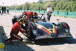 Pitstop for #12 G&W Motorsports Lola B2K/40 Nissan: Robert Prilika, Davey Jones, Danny Marshall