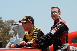 Matt Kenseth and Kurt Busch