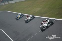 Jenson Button and Takuma Sato