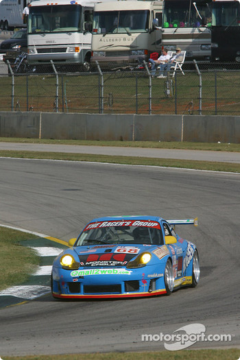#68 The Racers Group Porsche GT3 RS: Chris Gleason, Marc Bunting, Pierre Ehret