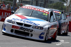 Simon Wills hot on the heels of rookie Jamie Whincup