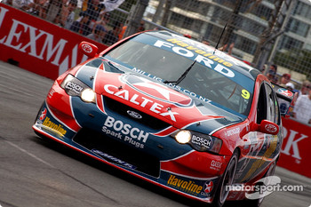 Russell Ingall on his way to winning race one