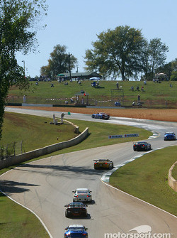 GT qualifying action