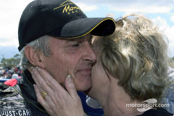 Race winner Peter Brock