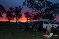Camping on Mount Panorama