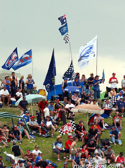 Ford supporters can see the championship heading their way